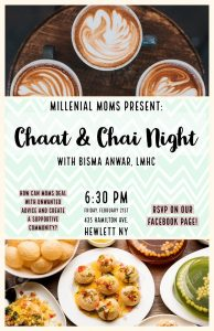Chaat and Chai Night!