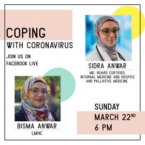 Coping with Covid-19 with Dr.Sidra Anwar
